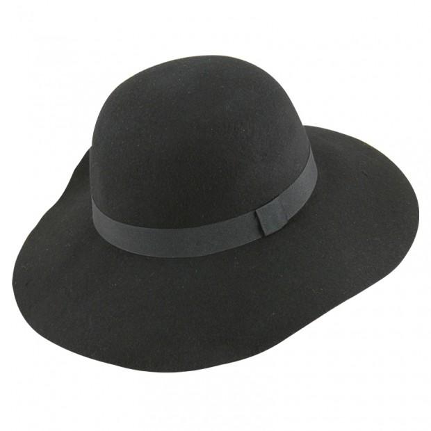 13ff60ae55 Καπέλο μάλλινο γυναικείο χειμερινό με μεγάλο κυματιστό γείσο