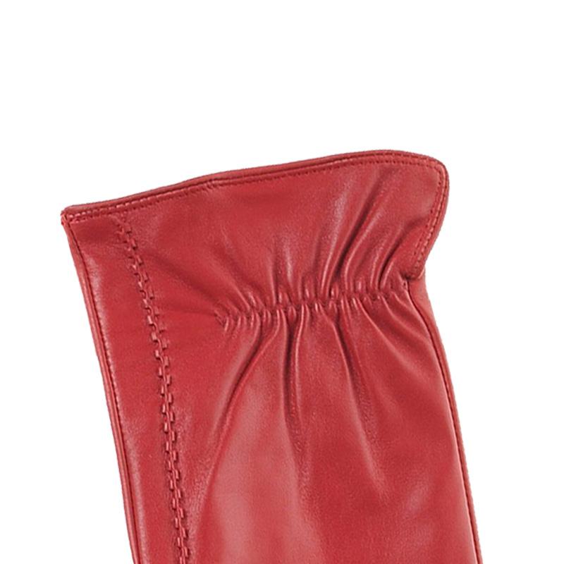 2c7a4e08a0 Γάντια γυναικεία δερμάτινα κόκκινα Guy Laroche 68862 Γάντια γυναικεία δερμάτινα  κόκκινα Guy Laroche 68862