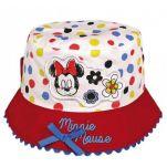 Καπέλο καλοκαιρινό βρεφικό πουά με αντηλιακή προστασία Disney Minnie Mouse