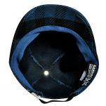 Καπέλο τζόκεϊ καρό Kangol Frontier Spacecap, μπλε,,εσωτερικό