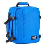 Τσάντα ταξιδίου - σακίδιο πλάτης μίνι, τιρκουάζ, Cabin Zero Ultra Light Mini Cabin Bag Samui Blue, αριστερή όψη