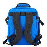 Τσάντα ταξιδίου - σακίδιο πλάτης μίνι, τιρκουάζ, Cabin Zero Ultra Light Mini Cabin Bag Samui Blue, πίσω όψη