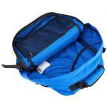 Τσάντα ταξιδίου - σακίδιο πλάτης μίνι, τιρκουάζ, Cabin Zero Ultra Light Mini Cabin Bag Samui Blue, εσωτερικό