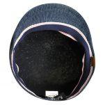 Καπέλο τραγιάσκα καλοκαιρινή μπλε τζιν Kangol Denim 507
