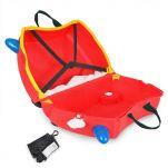 Βαλίτσα παιδική πυροσβεστική Trunki Frunk  Fire Truck Luggage, εσωτερικό