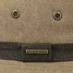 Καπέλο ανδρικό βαμβακερό καμβάς Stetson Canvas Traveller, λεπτομέρεια, κορδέλα