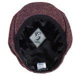 Καπέλο τραγιάσκα χειμερινό μπορντό Kangol Tweed Ripley, εσωτερικό
