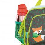 Σακίδιο πλάτης παιδικό αλεπού Lässig Mini Backpack Little Tree - Fox, λεπτομέρεια, εξωτερική τσέπη, αριστερή όψη