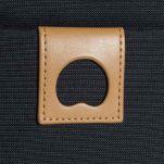 Τσαντάκι ώμου ανθρακί Delsey Montholon Vertical Mini Bag Anthracite, λεπτομέρεια