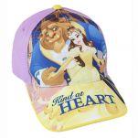 Καπέλο τζόκεϊ  καλοκαιρινό Disney Beauty And The Beast Kind At Heart
