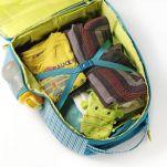Βαλίτσα παιδική υφασμάτινη Arnold ο πειρατής ιπποπόταμος  Lilliputiens Arnold Trolley, εσωτερικό