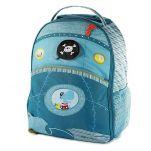Βαλίτσα παιδική υφασμάτινη Arnold ο πειρατής ιπποπόταμος  Lilliputiens Arnold Trolley