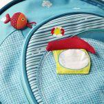 Σακίδιο πλάτης παιδικό με τον Arnold τον ιπποπόταμο πειρατή Lilliputiens Arnold Backpack