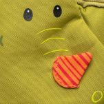 Σακίδιο πλάτης παιδικό δράκος Lilliputiens Walter Backpack, λεπτομέρεια, μπροστινή όψη