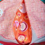 Σακίδιο πλάτης παιδικό με τον Nicola τον κακό τον λύκο Lilliputiens Nicolas Backpack, λεπτομέρεια, μπροστινή όψη