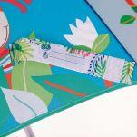 Ομπρέλα παιδική χειροκίνητη Georges το πιθηκάκι Lilliputiens Georges Unbrella, λεπτομέρεια, ετικέτα αναγραφής του ονόματος
