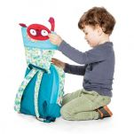 Σακίδιο πλάτης παιδικό με τον George το μαϊμουδάκι  Lilliputiens Georges Schoolbag