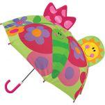 Ομπρέλα παιδική τρισδιάστατη πεταλούδα Stephen Joseph Pop Up Umbrella Butterfly