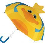 Ομπρέλα παιδική τρισδιάστατη παπάκι Stephen Joseph Pop Up Umbrella Duck