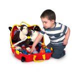 Βαλίτσα παιδική αγωνιστικό αυτοκινητάκι Trunki Rocco Race Car Luggage