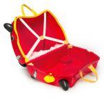 Βαλίτσα παιδική αγωνιστικό αυτοκινητάκι Trunki Rocco Race Car Luggage, εσωτερικό