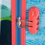 Βαλίτσα παιδική καμπίνας Disney Mickey Mouse Roadster Racers Luggage, λεπτομέρεια, κλειδαριά συνδυασμού