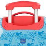 Βαλίτσα παιδική καμπίνας Disney Mickey Mouse Roadster Racers Luggage, λεπτομέρεια, λαβή