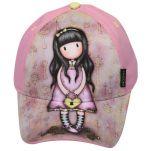 Καπέλο τζόκεϊ καλοκαιρινό ροζ Santoro Gorjuss With Heart Bag