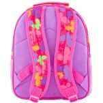 Σακίδιο πλάτης παιδικό πεταλούδα Stephen Joseph Mini All Over Print Backpack Butterfly, πίσω όψη