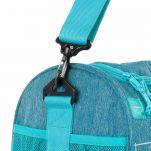 Τσάντα ταξιδιού παιδική σιέλ Lässig Mini Sportsbag About Friends, λεπτομέρεια, αριστερή πλευρά, ιμάντας συγκράτησης