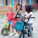 Τσάντα ταξιδιού παιδική σιέλ Lässig Mini Sportsbag About Friends