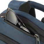 Σακίδιο πλάτης επαγγελματικό μπλε Samsonite Guardit 2.0 Laptop Backpack Blue, λεπτομέρεια, τσέπη γυαλιών