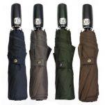 Ομπρέλα μονόχρωμη σπαστή αυτόματο άνοιγμα - κλείσιμο Guy Laroche Folding Umbrella Automatic Open - Close
