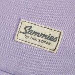 Βαλίτσα παιδική Lily ο μονόκερος Samsonite Happy Sammies Upright Lily Unicorn, λεπτομέρεια, μπροστινή όψη, logo