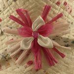 Καπέλο παιδικό ψάθινο καλοκαιρινό Hat You Straw Hat With Flower White, λεπτομέρεια, λουλούδι