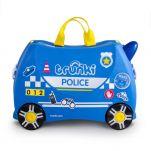 Βαλίτσα παιδική αστυνομικό αυτοκίνητο Trunki Percy the Police Car Luggage