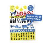 Βαλίτσα παιδική αστυνομικό αυτοκίνητο Trunki Percy the Police Car Luggage, αυτοκόλλητα