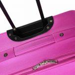 Βαλίτσα μεσαία μαλακή φούξια  Diplomat ZC-155 Luggage 60 cm Fucshia, λεπτομέρεια, χειρολαβή, πάνω όψη