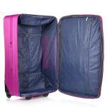 Βαλίτσα μεσαία μαλακή φούξια  Diplomat ZC-155 Luggage 60 cm Fucshia, εσωτερικό