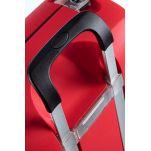 Βαλίτσα σκληρή 4 ρόδες κόκκινη Samsonite Termo Young Spinner Vivid Red 77 cm, πίσω όψη, λαβή