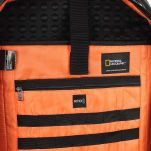 Τσάντα ταξιδίου - σακίδιο πλάτης μπλε National Geographic Hybrid 3 Way Backpack Blue, εσωτερικό, λεπτομέρεια.