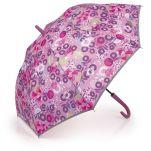 Ομπρέλα μεγάλη γυναικεία αυτόματη φλοράλ Gabol Stick Umbrella Linda.