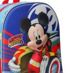 Σακίδιο πλάτης παιδικό Disney Mickey Mouse 3D World Backpack, λεπτομέρεια.