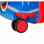 Βαλίτσα παιδική μικρή με 4 ρόδες Disney Mickey Mouse World Luggage, λεπτομέρεια, τροχός.