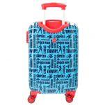 Βαλίτσα παιδική καμπίνας Spiderman Street Luggage, πίσω όψη.