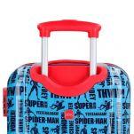 Βαλίτσα παιδική καμπίνας Spiderman Street Luggage, λεπτομέρεια, λαβή.