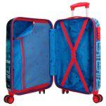 Βαλίτσα παιδική καμπίνας Spiderman Street Luggage, εσωτερικό.