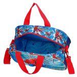Τσάντα ταξιδίου παιδική Spiderman Street Travel Bag, εσωτερικό.