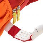 Σακίδιο πλάτης παιδικό αλεπουδίτσα  Sigikid Backpack Fox, λεπτομέρεια, ετικέτα ονόματος.