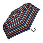 Ομπρέλα σπαστή ριγέ United Colors Of Benetton Super Mini RH Folding Umbrella Multi Stripes.